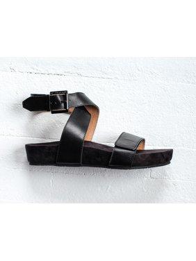 Revitalign Swell Women's Comfort Strap Sandal - Black