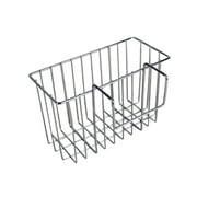 Kitchen Storage Holder Stainless Steel Sink Caddy Storage Hanging Basket Faucet Shelf Sponge Drain Rack
