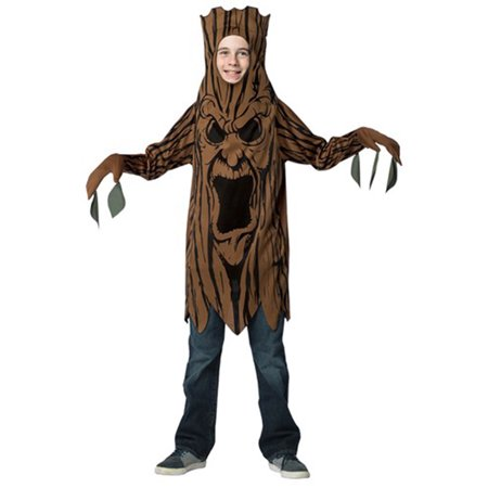 Scary Tree Teen Halloween Costume, One Size, (10-12)