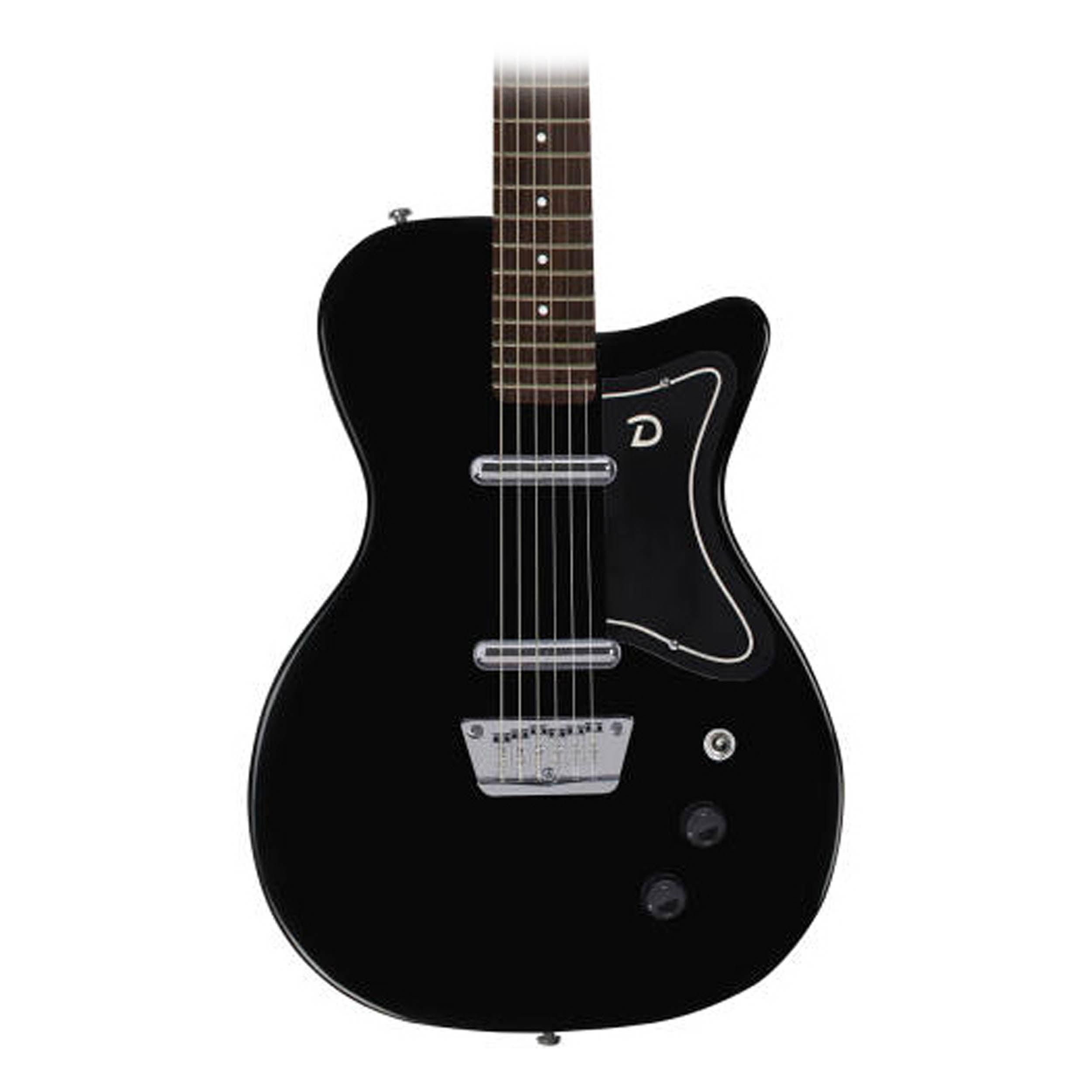 Danelectro '56 Baritone Black Guitar by Danelectro