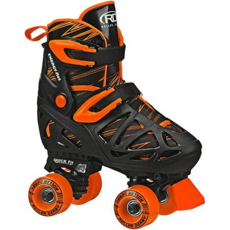Roller Derby RD Quad Boy Roller Skates, M, 3-6