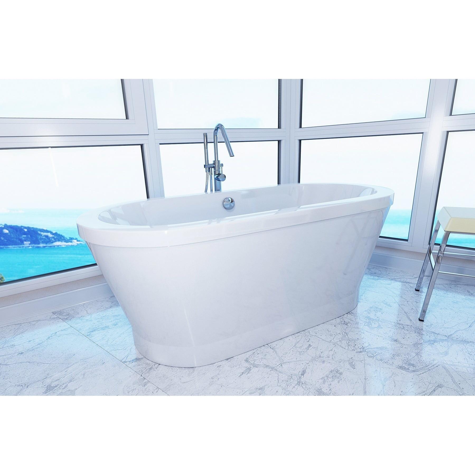 Aquatica PureScape 302 Freestanding Acrylic Bathtub - Walmart.com