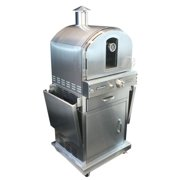 Homcomfort Gas Pizza Oven - Stainless Steel
