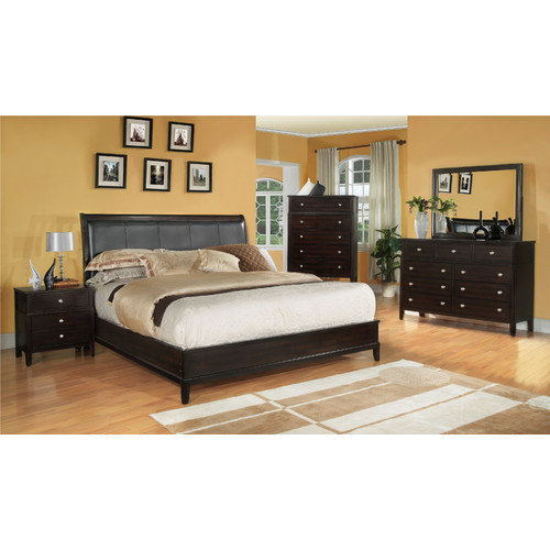 Fairfax Home Collections Newton Queen Sleigh Bed Customizable Bedroom Set