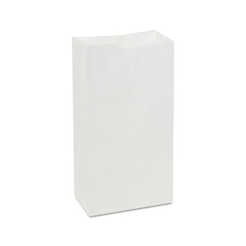 General 4 Paper Bag in White with 500 Per Bundle