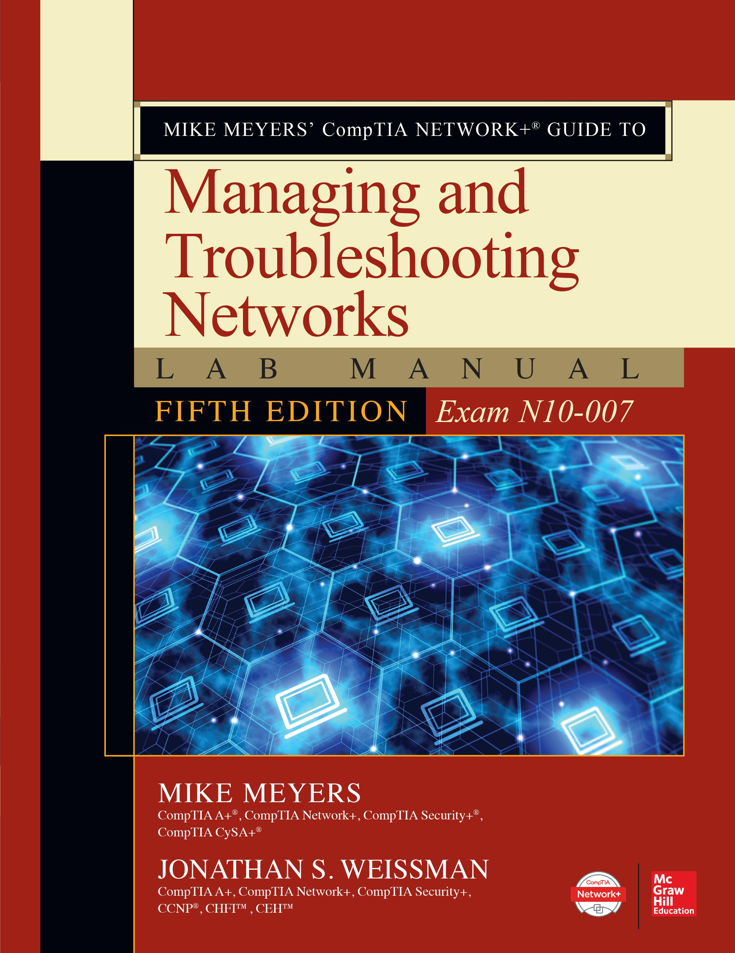 Mike Meyers' Comptia Network+ Guide to Managing and Troubleshooting  Networks Lab Manual, Fifth Edition (Exam N10-007) - Walmart.com