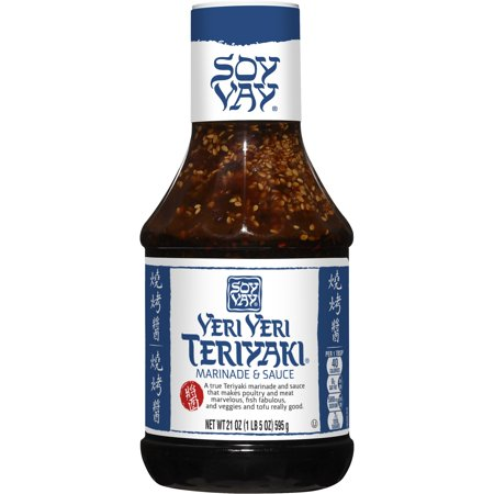 (2 Pack) Soy Vay Marinade & Sauce, Veri Veri Teriyaki, 21 oz Bottle