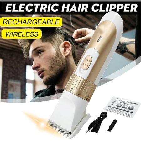 men electric hair clipper trimmer haircut machine shaver