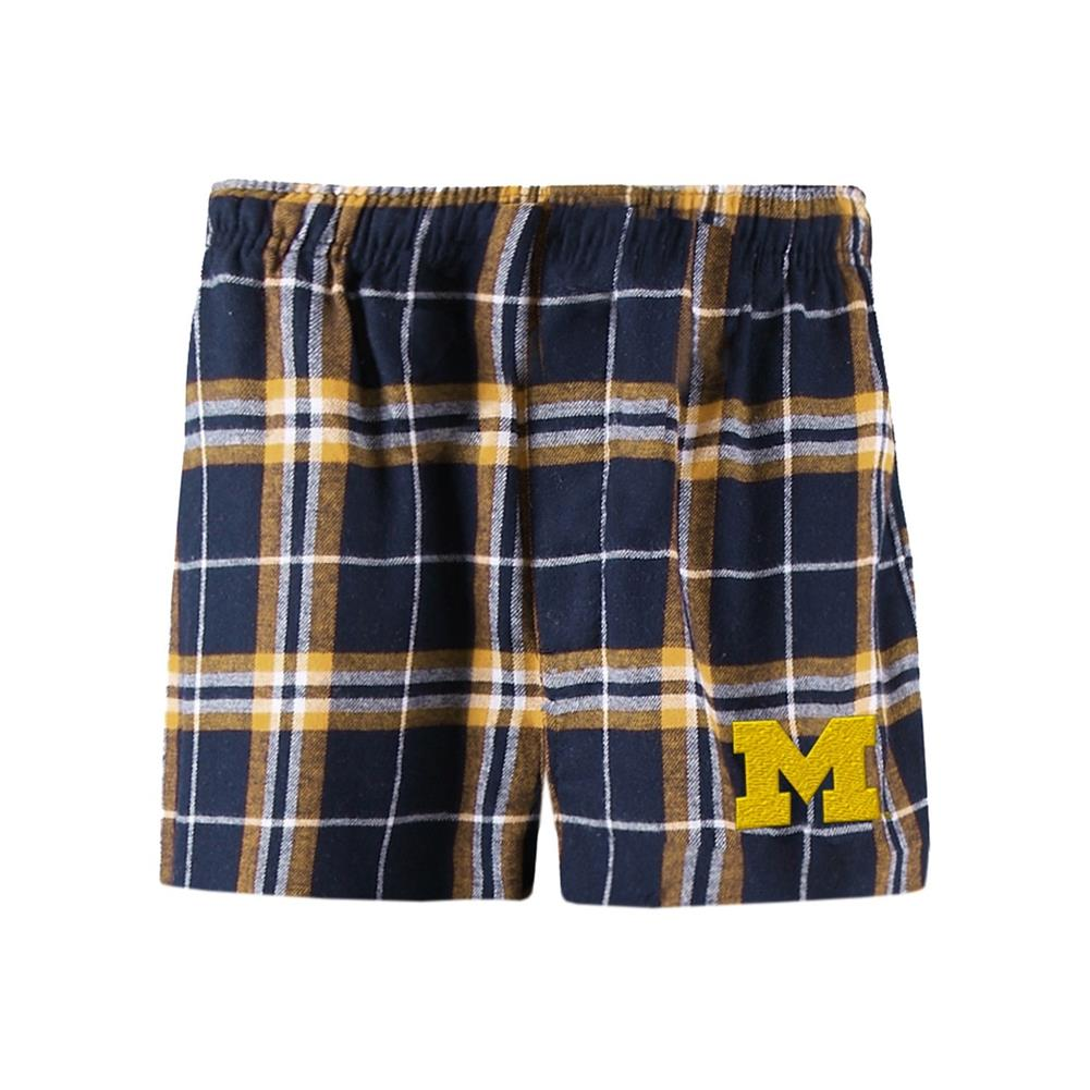 Men's University of Michigan Wolverines Boxer Shorts by Concepts Sport