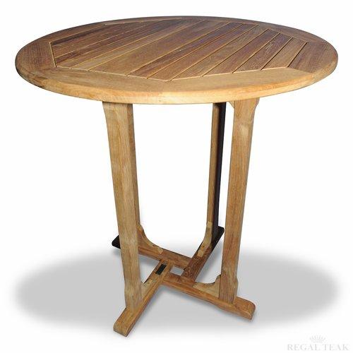 Regal Teak Solid Wood Bar Table