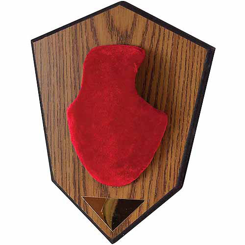 Allen Antler Mounting Kit, Red Skull Cover