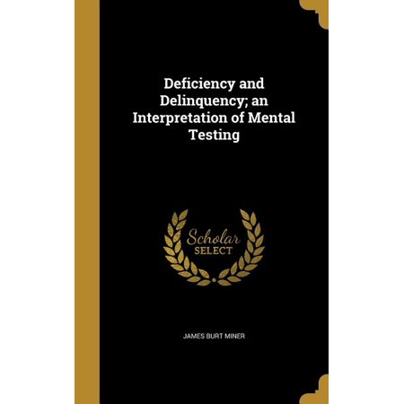 ISBN 9781361741788 product image for Deficiency and Delinquency; An Interpretation of Mental Testing | upcitemdb.com