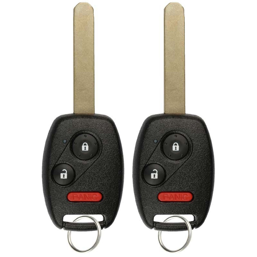 1 New Replacement Remote Head Key Remote for Honda Civic 2006-2011 Odyssey 2011-2017