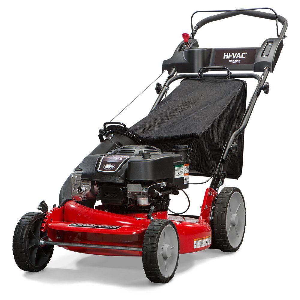 Snapper HI VAC 21 Inch ReadyStart Push Walk-Behind Bag Lawn Mower   MOW-7800979