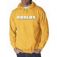 New Way 923 - Adult Hoodie Roblox Logo Game Accent Sweatshirt 4XL Maroon