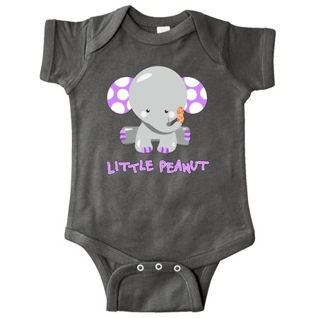 Little Peanut- cute baby elephant Infant Creeper (Infant Snowsuit Unisex)