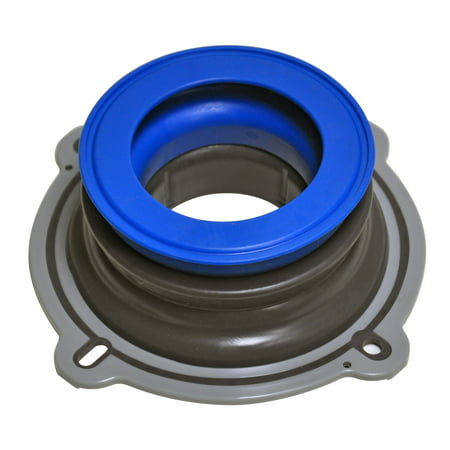 NEXT BY DANCO Perfect Seal Toilet Wax Ring, Black and Blue, 1-Pack (10718)