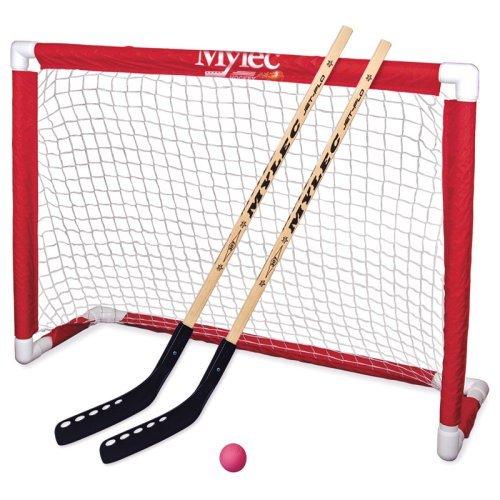Mylec Deluxe Folding Hockey Goal Set