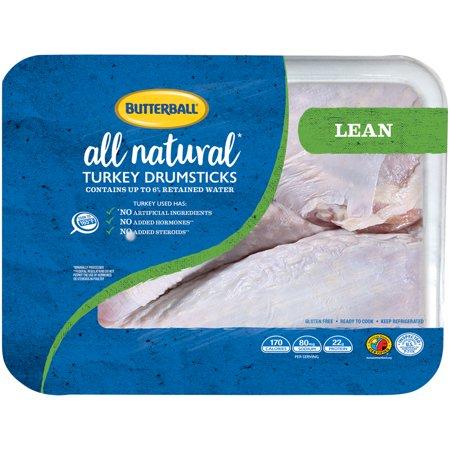 Butterball Fresh Turkey Drumsticks 1 8 2 25 Lb Walmart Com