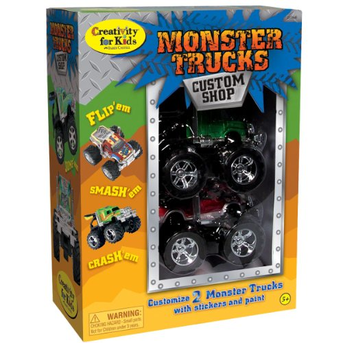 Creativity for Kids Monster Trucks Custom Shop (2-Pack)