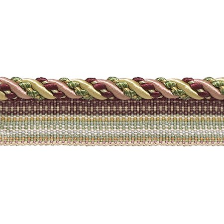 Style Patch Cord (Medium Cherry Red, Beige, Green  4/16
