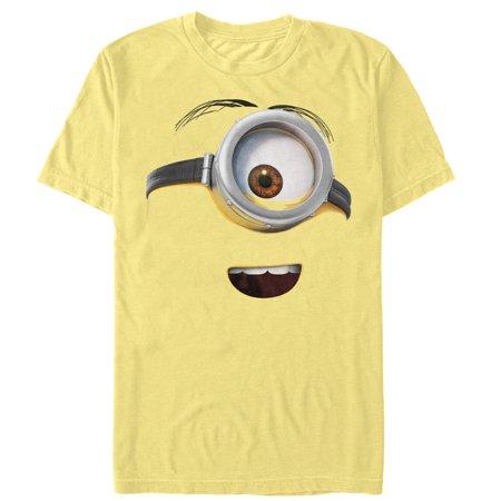 Despicable Me Men's One Eyed Minion Costume T-Shirt (Minion Costume Shirt)