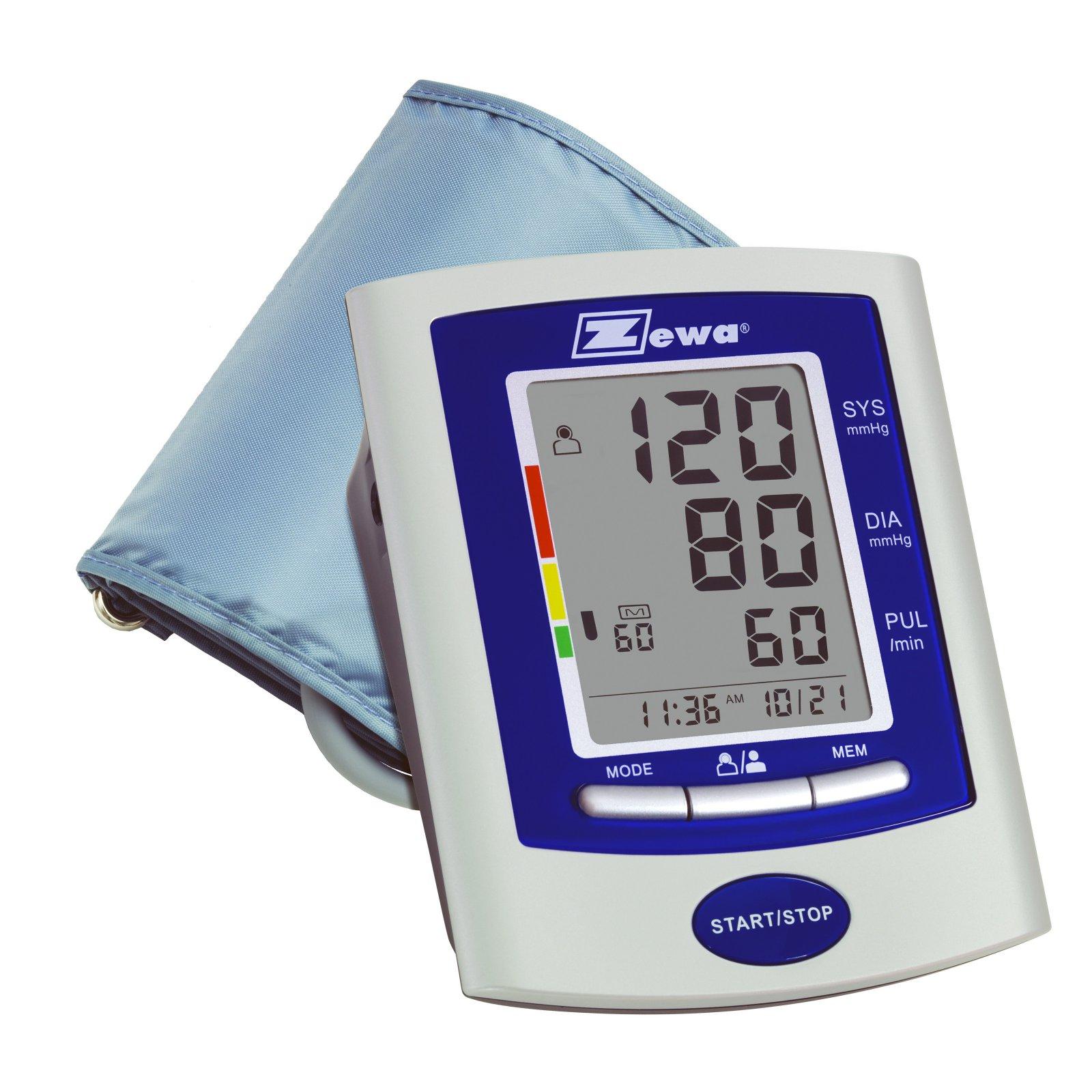 Zewa Automatic Deluxe Model Blood Pressure Monitor, 1ct