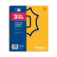 PITTSBURGH PIRATES CLASSIC 3-SUBJECT NOTEBOOK