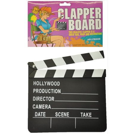 Hollywood Clapper Board Costume Accessory