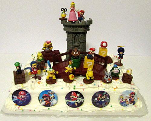 Lego Super Mario Brothers 25 Piece Deluxe Game Scene Birt...