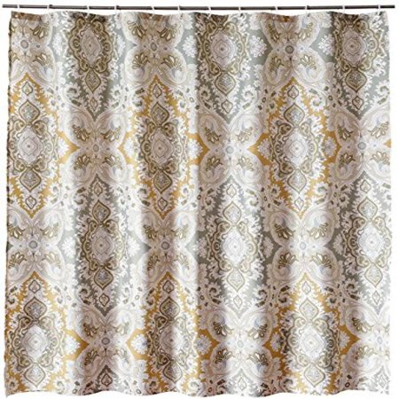 Welwo Shower Curtain X Long Extra Set Paisley 72