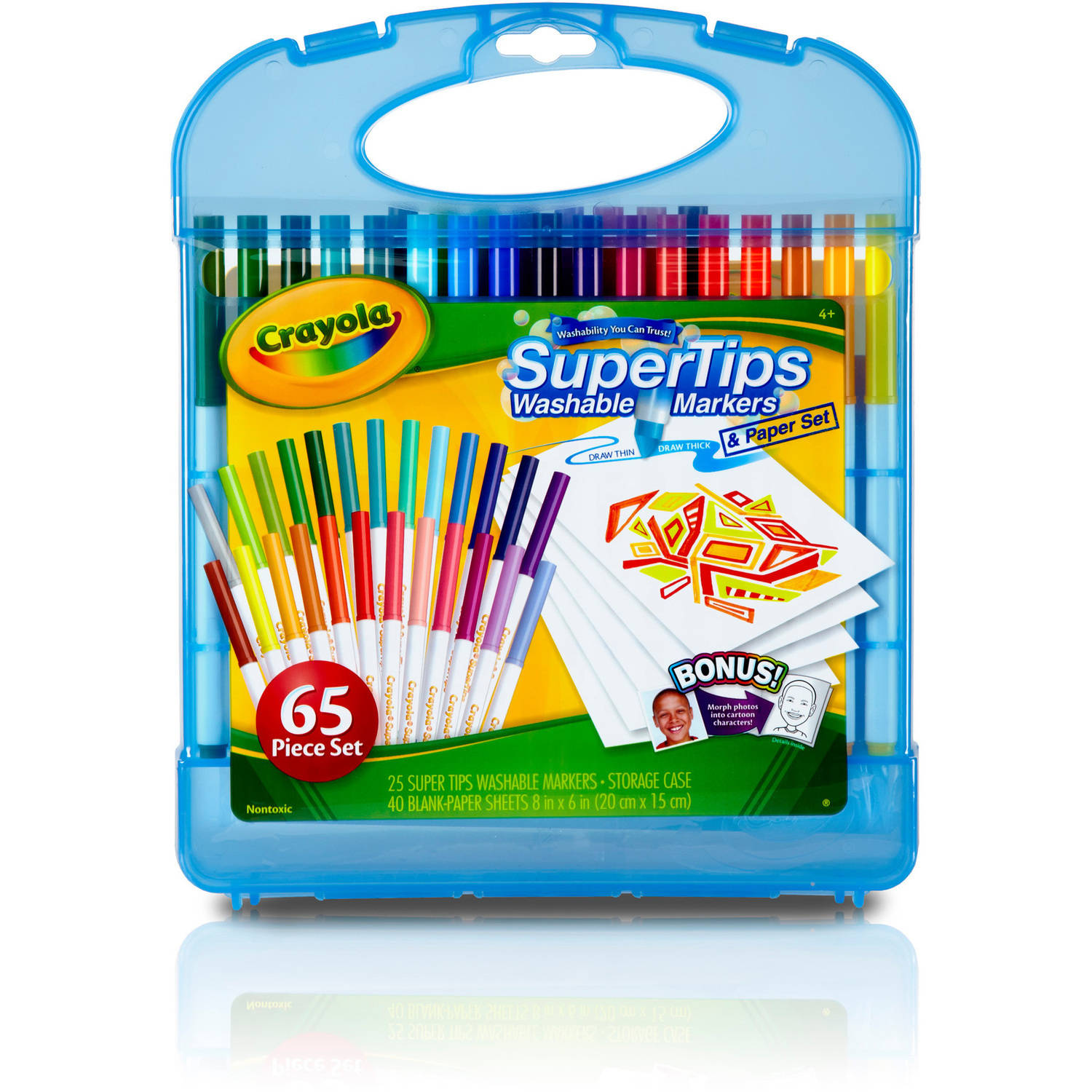 Crayola Washable Super Tips Markers Kit