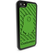 Apple iPhone 5 and 5S 3D Printed Custom Phone Case - Despicable Me - Stuart Silhouette 2