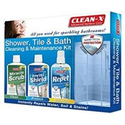 Clean X Shower Tub Amp Bath Maintenance Kit Walmart Com