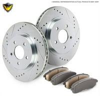White Duralo Brake Rotors - Walmart com