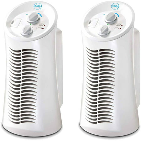 Febreze Mini Tower Air Purifier, White, FHT180W, 2