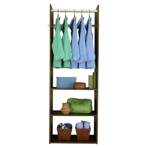 Easy Track Closet White Hanging Tower Kit