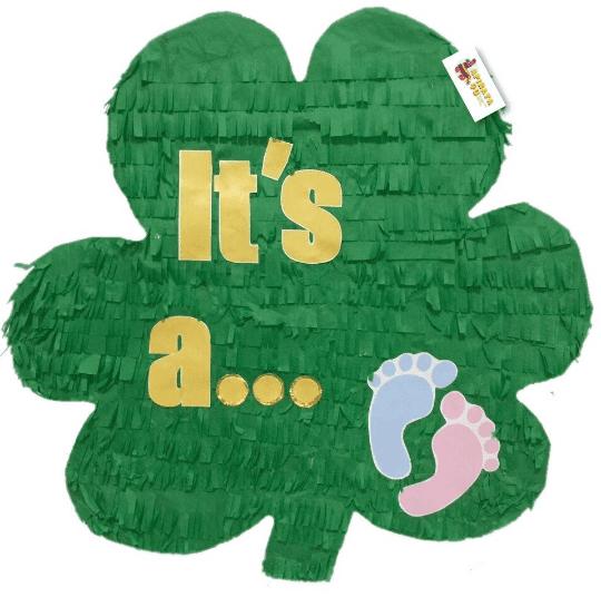 St. Patrick's Day Theme Gender Reveal Pi?ata