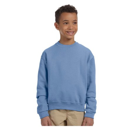 Jerzees Big Boys Nublend Seamless Ribbed Crewneck Sweatshirt  Style 562B