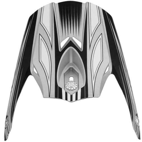 AFX FX-21 Replacement Multi Peak Visor Silver