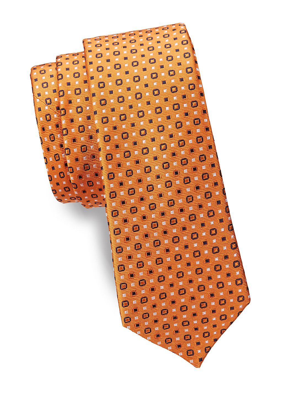 Boy's Narrow Silk Tie