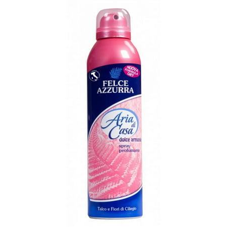 Felce Azzurra Aria di Casa Sweet Harmony Talc & Cherry Air Freshener Room Spray 250ml (Harmony Spray Skirts)