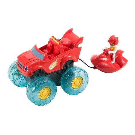 Nickelodeon Blaze And The Monster Machines Blaze And Aj Water Rider