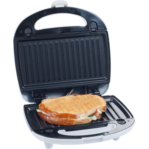 Sanduchera Chef Buddy 3-in-1 Sandwich Panini Press and Waffle Maker Iron + Cuisinart en VeoyCompro.net