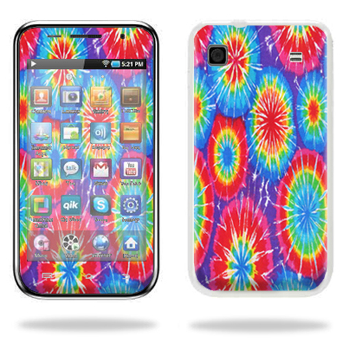 Skin Decal Wrap cover for Samsung Galaxy 4.0 MP3 Tie Dye 1