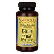Swanson Calcium Pyruvate Energy Enhancer 60 Capsules