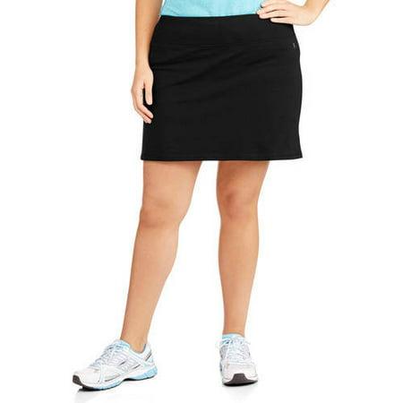 Danskin Now - Women s Plus-Size Basic Skort - Walmart.com 0256a32dac67