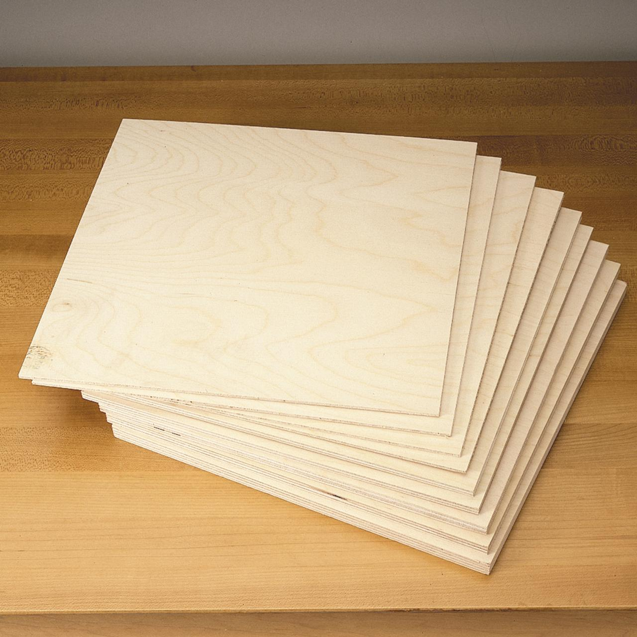 Baltic Birch Scroll Saw Pack by Woodcraft Supply PW