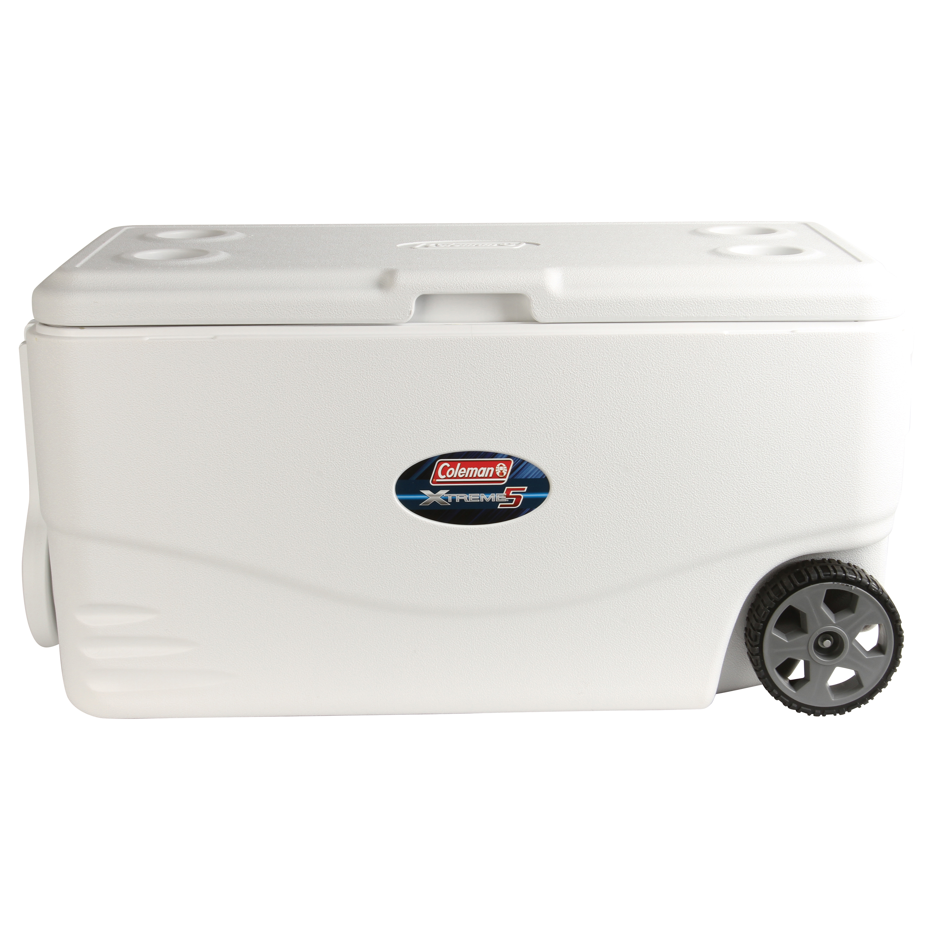 Coleman 100-Qt. Xtreme 5-Wheeled Cooler Only $44.95