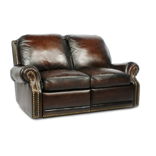 Canora Grey Timmie Leather Loveseat